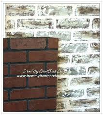 white brick wall paneling easy white brick effect wall covering white brick wall paneling