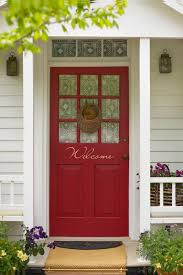 houses with red front doors. Fine Houses Boldness Of The Entryway And Houses With Red Front Doors Decoist