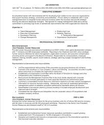 Human Resources Resume Examples Old Version Best Human Resource Adorable Human Resources Manager Resume