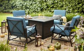 Home depot patio furniture Red Fire Pit Sets Home Depot Patio Furniture The Home Depot