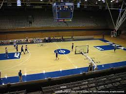 Seating Chart Of Cameron Indoor Stadium Cameron Indoor Stadium Seat Views Section By Section
