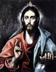 el greco cristo salvator mundi christ savior of the world