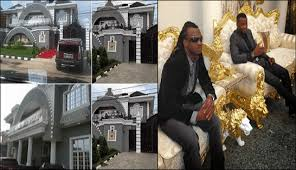 Image result for Psquare puts up their 'Squareville' mansion