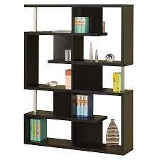 modern shelving  cirrus black bookcase  eurway furniture