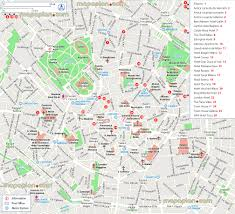 Antica Locanda Dei Mercanti Hotel Milan Map Central Milan Hotels Accommodation Map With Downtown