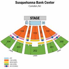 Susquehanna Bank Center Seating Chart Virtual Susquehanna Bank Center Seating Chart