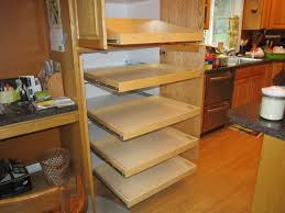 Diy Kitchen Pull Out Shelves Diy Pull Out Shelves For Kitchen Cabinets Best Home Furniture