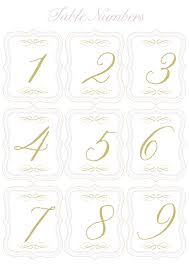 5 best images of round table numbers printable printable