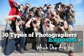 Types Of Photography 30 Types Of Photographers Exposed Which One Are You