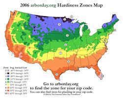 hardiness zone zip codes