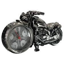 creative alarm clock cool motorcycle motorbike shape home bedroom office decor kids toys gifts walmart