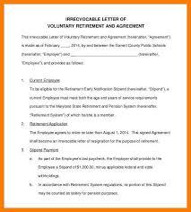retirment letter 11 12 retirement letter from employee tablethreeten com