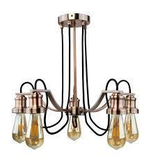 antique copper chandelier fabric cable antique copper arabella antique copper bell jar glass lantern chandelier