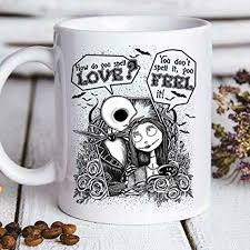 How do you say door in your language? Amazon Com Jack And Sally How Do You Spell Love You Don T Mug 11oz Coffee Mug Kitchen Dining