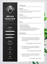 free cv layout free cv template word resume example