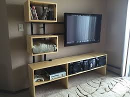 Floating Tv Stand Floating Tv Stand Grey Winterpast Decors Floating Tv Stand