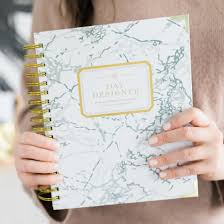 Day Designer The Strategic Planner And Daily Agenda Day Designer White Marble Daily Planner Dated January 2019