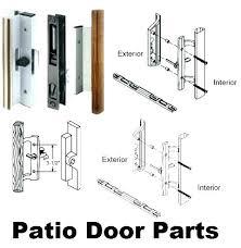 milgard sliding door handle patio with lock boat