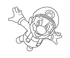 Small Picture Printable Super Mario Coloring Pages Coloring Me