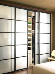 sliding glass closet doors with continental frame door repair toronto frosted