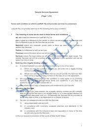 It is useful for both parties to protect their respective rights in. Services Agreement Supply To A Customer Free Template Sample Lawpath