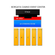 Borgata Events Center Seating Chart Best Solutions Of