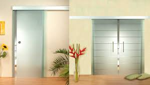 Interior Door With Frosted Glass White Frosted Interior Glass Door With Elegant Design