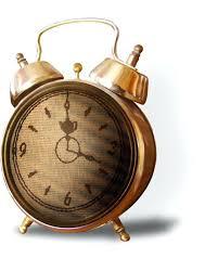 pretty creative alarm clock brown beautiful travel