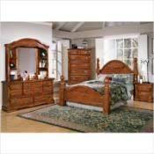 Vaughan-Bassett New River Tall Cannonball Bedroom Set Reviews www ...