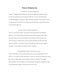 cover letter thesis statement examples essays thesis statement