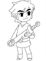 toon link coloring pages. Brilliant Coloring Toon Link Coloring Page By Hylian Green To Toon Link Coloring Pages I