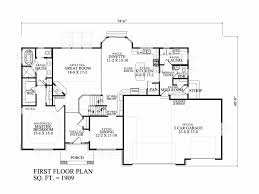 ranch house plans with 3 car tandem garage inspirational 2 story 3 car garage house plans