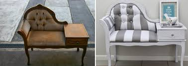 Restoring A Queen Anne Settee. Via thewhimsicalwife.com