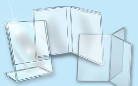Plexiglass Display Stands Clear Plastics Sign Holders Literature Holders Ad Frames 11