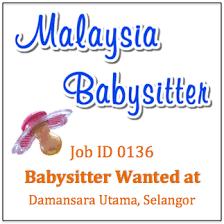 Baby Sitters Wanted Babysitter Wanted In Damansara Utama