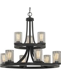 amazing home design tremendeous seeded glass chandelier in tacular savings on industrial 9 light seeded