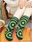 Схема вязания носка сапожек крючком