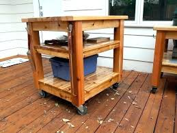 grill prep station outdoor storage table with keter