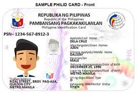 Philippines Get Id To National How