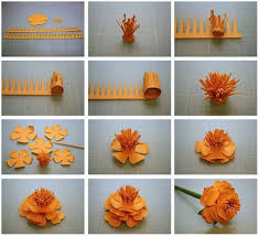 How To Make Paper Flower Bouquet Step By Step How To Make 10 Different Flower Craft Tutorials Step By Step K4