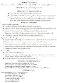 Skills And Abilities Resume Example Pusatkroto Com