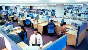 software company office. on noninfrastructure oriented it sectors there are many softwarehardware companies which develop productsservices meant for enduser customers at software company office