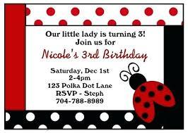 Ladybug Invitations Template Free Ladybug Birthday Invitations Little Invitation Pink Jwintz