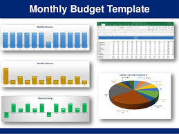 Simple Monthly Budget Template In Excel | By Ex-Deloitte