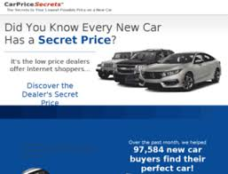 Car Price Quotes Access carpricesecrets Get Low New Car Internet Price Quotes at 78