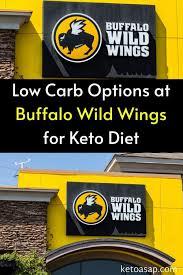 buffalo wild wings keto menu 10 best