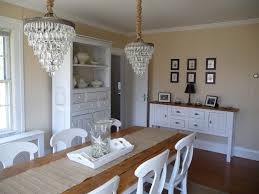 Chandelier Over Dining Room Table Pottery Barn Clarissa Chandeliers Over The Dining Room Table My