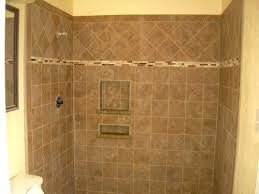 stylish tiling shower wall best tile for gray bathroom perfect sanctuary master bath new where to start or floor first corner with large not square cement