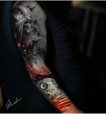 тату рукав для мужчин мечта любой яркой личности 302 фотографии