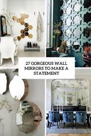 27 Wunderschöne Wandspiegel Um Eine Aussage Zu Treffen Megapanorg